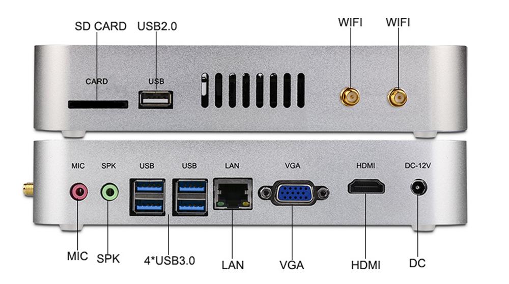Namek Core i5 6200 Mini PC Label