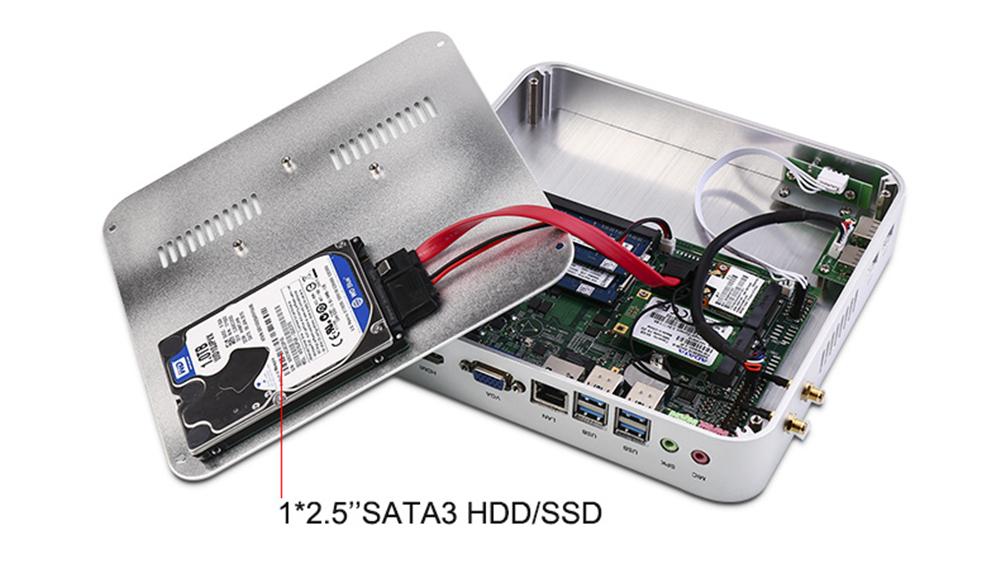 Namek Mini PC 6006 Case Open