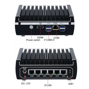 Low Power Server Virtualization Hardware front